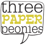 Three Paper Peonies
